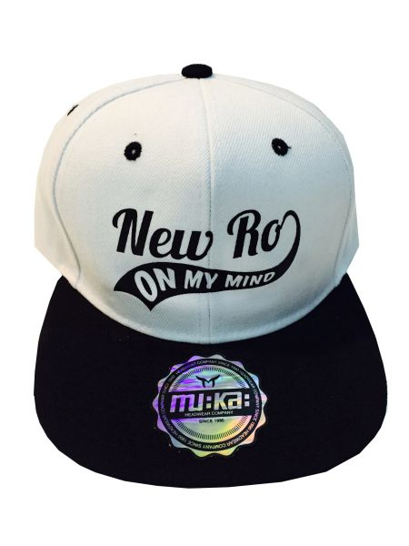 NEW RO ON MY MIND WHITE CAP