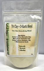 Tri Clay + D-Earth Detox Blend 8oz by Clay Terra