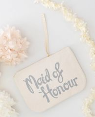 Maid of Honour Canvas Pouch