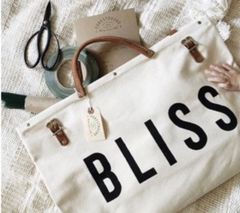 Bliss Canvas Utility Bag - Neutral