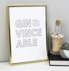 Gin Definition Print