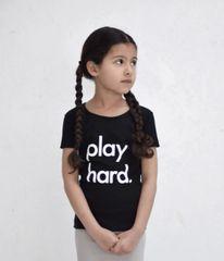 Play Hard Tee - Black