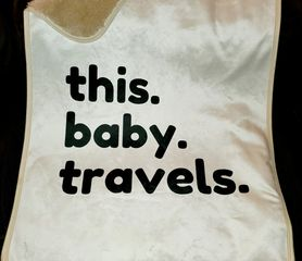This Baby Travels | Baby Sherpa Travel Blanket