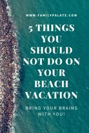 thngs to do at the beach, beach vacations, things to do near me