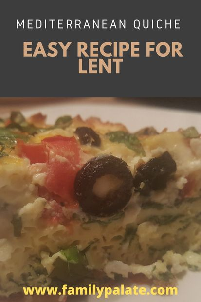 easy recipes, the best quiche recipe, vegetarian quiche, quiche recipe. lent recipes,
