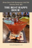 best happy hour in maryland, restaurants in severna park, happy hour near me