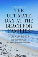 beach travel, beach tips for families