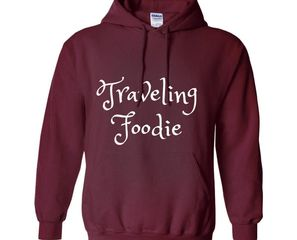 The Traveling Foodie Pullover/Sweatshirt