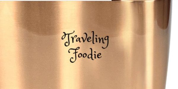 traveling foodie mug,traveling foodie tumbler, travel gifts for foodies