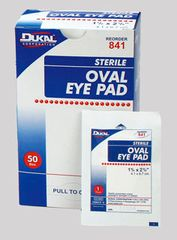 EYE PAD, OVAL, 4ct