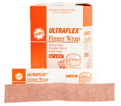 "FINGERWRAP, HART ULTRAFLEX, 3/4"" X 4-3/4"", 25/BOX"