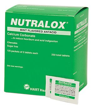 NUTRALOX MINT ANTACID 125ct