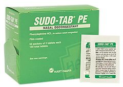 SUDO-TAB PE DECONGESTANT 50/2'S BOX
