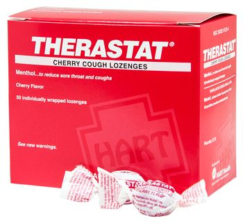 THERASTAT CHERRY COUGH LOZENGES 50/BOX