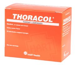 THORACOL COUGH LOZENGES 50/BOX