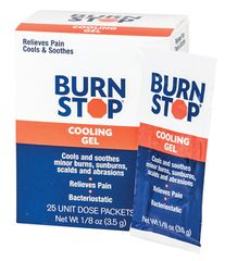 BURN STOP BURN GEL, 25/BOX