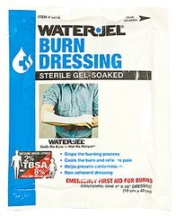 WATER-JEL BURN DRESSING, STERILE, 4X16