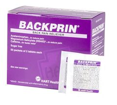 BACKPRIN,BACK PAIN RELIEF 50/2'S