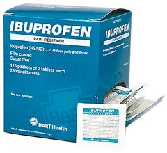 IBUPROFEN PAIN RELIEVER 125/2'S BOX