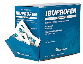 IBUPROFEN PAIN RELIEVER 50/2'S BOX