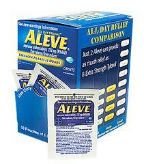 ALEVE CAPLETS, 50/1'S