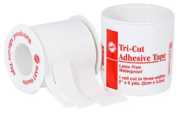 "ADHESIVE TAPE, TRI-CUT, HART, 2""X5 YARDS, SPOOL"