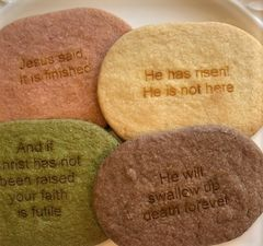 Scripture Cookies, OVAL 24 pcs
