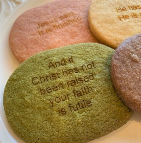 Scripture Cookies, OVAL 48 pcs