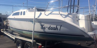 2001 Hunter 240 sailboats for sale