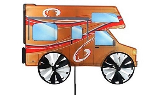RV Wind Spinners with Spinning Wheels | RV and Camping Ground Decorations