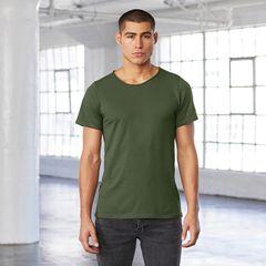 Bella + Canvas Unisex Raw Neck T-shirts