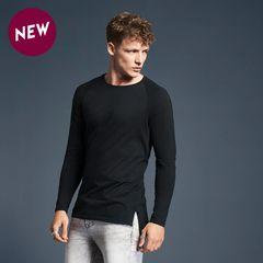 Anvil Long and Lean Raglan T-shirt