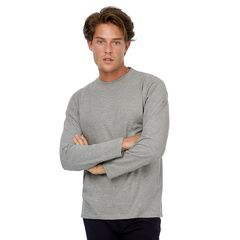 B&C #E150 Mens Long Sleeve T-shirts