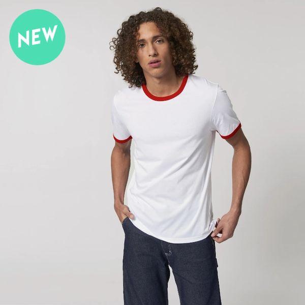 Stanley Stella Ringer Organic Unisex T-shirt