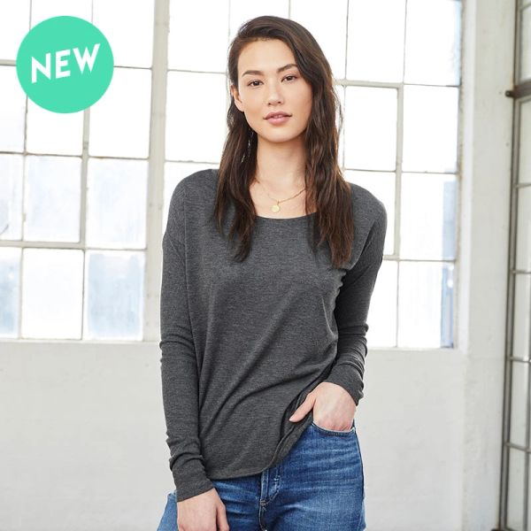 Bella + Canvas Flowy Long Sleeve T-shirt