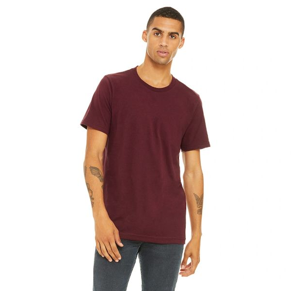 Bella + Canvas Unisex Jersey Crew Neck T-shirts