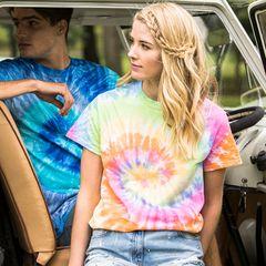 Colortone Spiral Tie Dye T-shirt