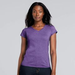 Gildan Womens Softstyle V-neck T-shirts
