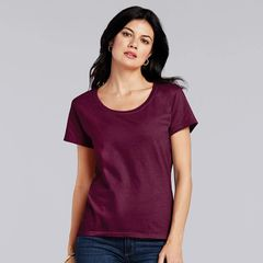 Gildan Womens Softstyle Deep Scoop T-shirts