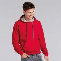 Gildan Heavy Blend Contrast Pullover Hoodies