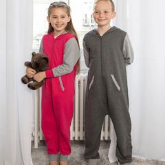 Comfy Co Kids Contrast Onesies