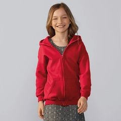 Gildan Kids Heavy Blend Zip Hoodies