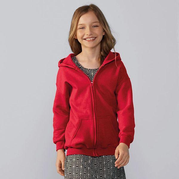 Gildan Kids Heavy Blend Zip Hoodies