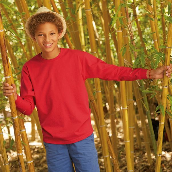 Fruit of the Loom Long Sleeve Kids T-shirts