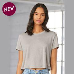 Bella + Canvas Flowy Cropped T-shirt