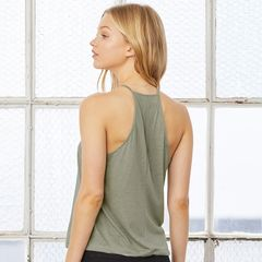 Bella + Canvas Flowy High Neck Tanks
