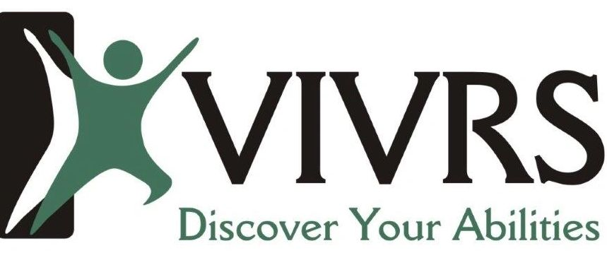 "VIVRS Logo with tagline ""Discover your Abilities"""
