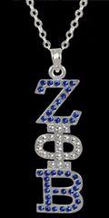 Silver Rhinestone pendant
