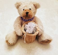 Plush Bear with Blueberry Candy Balls