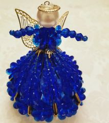 Royal Christmas Angel Ornament